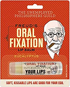 The Unemployed Philosophers Guild Sigmund Freud's Oral Fixation Lip Balm - Made in the USA