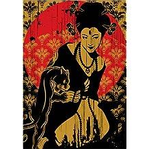 Póster 30 x 40 cm: Geisha de dolceQ - impresión artística de alta calidad, nuevo póster artístico