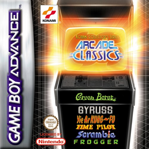 Arcade Classics - Konami Collector's Series (Game Boy Cheat)