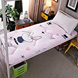xiaojian& Student Schlafsaal Single Bettmatratze Pad Tatami Matratze, Love Rabbit, 1.0m*2.0m (3.3 ft) Bed