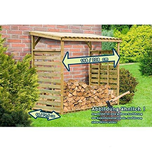 Gartenpirat-Kaminholzunterstand-Exklusiv-fr-ca-2-m-Brennholz