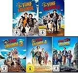 Fünf Freunde Film 1+2+3+4+5 im Set - Deutsche Originalware [5 DVDs]