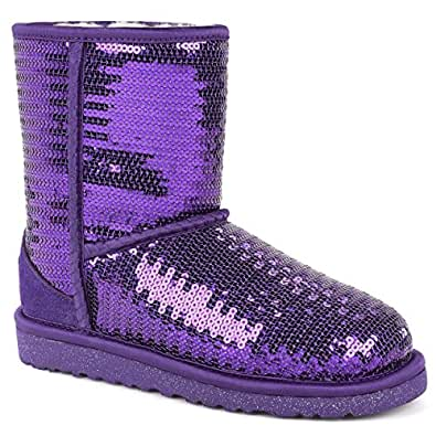 d12a8e797af UGG - Boots for Girls Size: 1 UK: Amazon.co.uk: Shoes & Bags