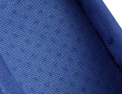 HJMTRY Sandali estivi Uomo Tempo libero Scarpe da spiaggia Lounger Half Slippers Blue