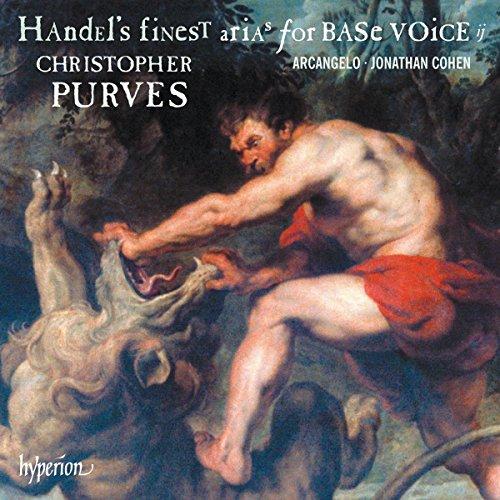 Haendel : Les plus beaux airs pour basse. Purves, Arcangelo, Cohen.