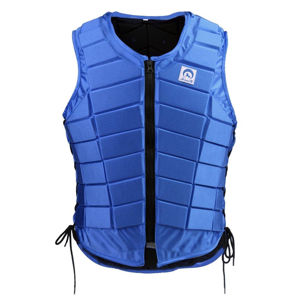 Sharplace Reitschutzweste Körperschutz Sicherheitsweste Brustpanzer Schutzausrüstung Rückenprotektor für Herren Damen Kinder