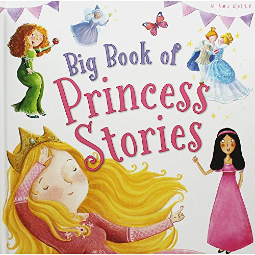 Miles Kelly Publishing Ltd Libro grande de historias de princesas