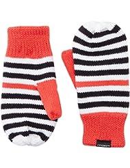 adidas Stripy Mittens - Mitones para niño, multicolor, talla S