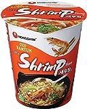 NONG SHIM Instant-Cup-Nudeln, Shrimp, 12er Pack (12 x 67 g)