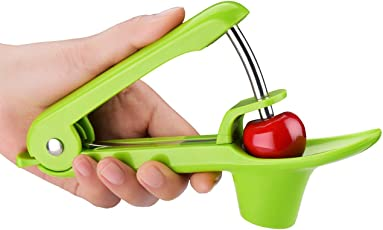 LWVAX Kitchen Fashionable Easy Cherry Fruit Core Seed Remover Fruit Cherry Pitter Corer KitchenFruit to Nuclear Tool