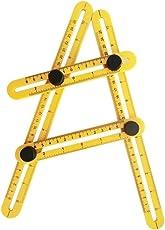 Glive's Multi Angle-izer Template Tool Plastic Multi-Angle Measuring Ruler Tools (1)