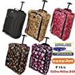 Hand Luggage 50x40x20 Wheeled Lightweight Cabin Easyjet Trolley Bag Case