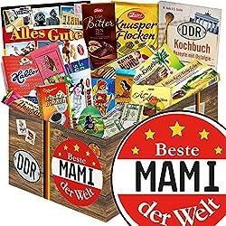Beste Mami der Welt | Schokoladen Paket | Geschenkset | Beste Mami der Welt | Schokolade Korb | Geschenk für Mami | mit Zetti, Viba, Halloren und mehr