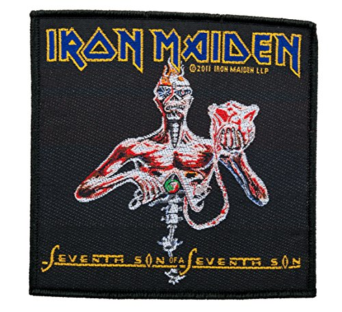 Iron Maiden Seventh Son-Woven Patch SP2528