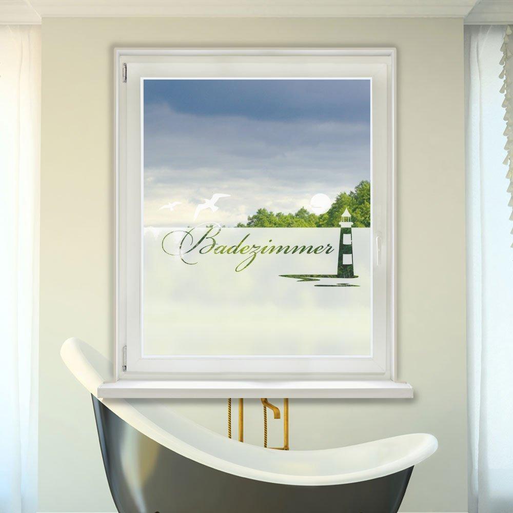 Wunderschönen Bad Fensterfolie