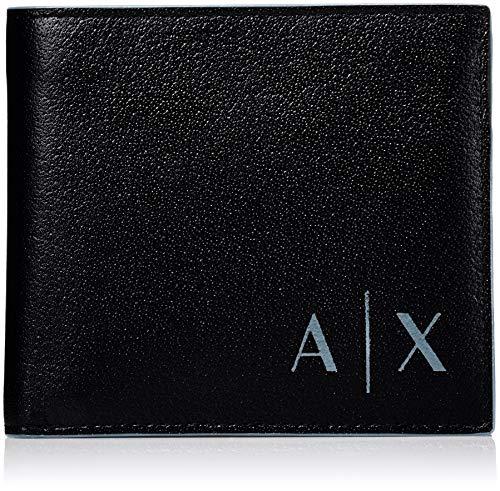 Armani ExchangeLogo Coin CaseHombreCarterasNegro Black10x2x11.5