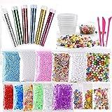 Slime Kit,30 Pack Kit para Hacer Slime con Perlas de Espuma de...