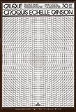 Canson Calque - Blocco da 50Fogli di carta da lucido, per schizzi in scala 70-75 g/m² A3 21 x 29,7 cm traslucido