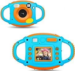 Kinder Kamera Kinder HD Digital Kamera Mini Sport Kamera 1.77 HD Farbdisplay 5 MP Schöne Kamera für Kinder