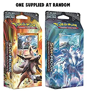 """Pokemon POK81236"""" Sun and Moon Burning Shadows"""" Tema cubierta juego, modelos surtidos, 1 unidad"""