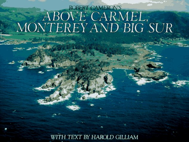 Above Carmel, Monterey and Big Sur