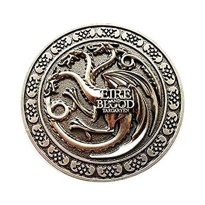 Game Of Thrones Targaryen Belt Buckle