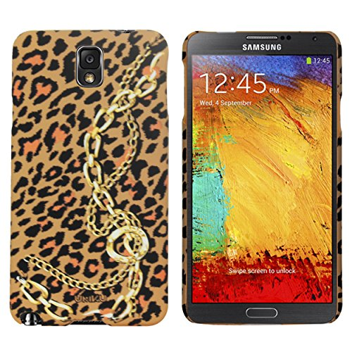Heartly Leopard Style Printed Design High Quality Hard Bumper Back Case Cover For Samsung Galaxy Note 3 Neo N7500 N7505 - Tiger Pattern With Chain  available at amazon for Rs.249