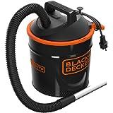 Black+Decker BXVC20TPE Aspirador de Cenizas (900 W, 18 l) con Sacudidor de Filtro