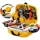 FunBlast® Tool Set Toys for Kids, (Set of 31 Pcs) Pretend PlaySet, Little Engineer Pretend Toolbox Construction Tools, Role Play Engineer Workshop Tool Kit