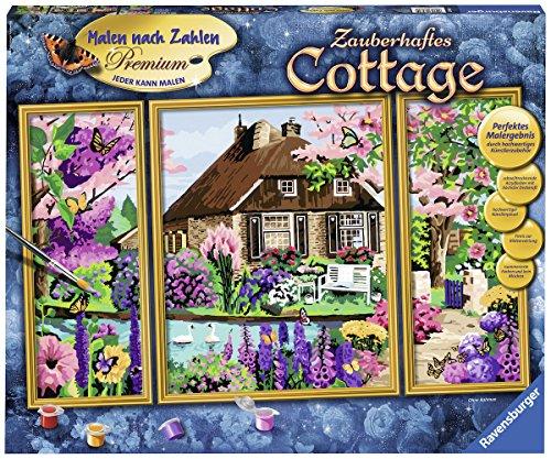 Ravensburger Malen nach Zahlen 28982 Zauberhaftes Cottage