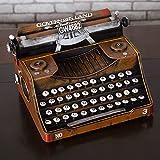 GFEI geschenke basteln handgefertigte eisen handwerk verzierungen / fenster ornamente retro - alte schreibmaschine modell bar,ein