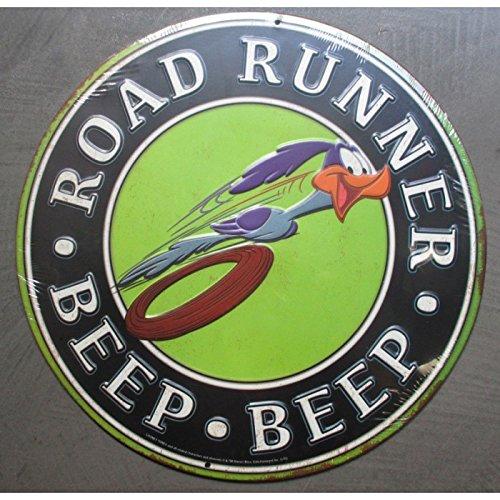 hotrodspirit-plaque-beep-beep-road-runner-en-relief-deco-metal-tole-rare