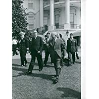 Foto vintage di EX presidente francese Charles