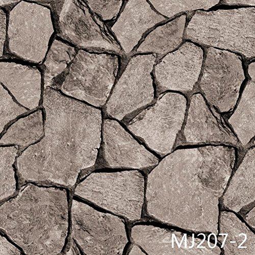 Persönlichkeitsstörung Wasserdicht gepolsterte PVC Nachahmung Stein Tapete Hintergrund Eingang Korridor chinesischen Mauer Papiertapete 4