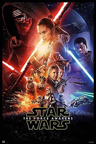 Grupo Erik Editori GPE4977-Poster-VII Onesheet Star Wars, 61 x 91,5 cm
