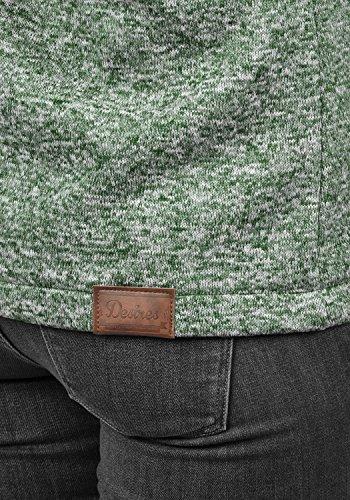 DESIRES Thory Damen Fleecejacke Sweatjacke Jacke Mit Kapuze Und Daumenlöcher, Größe:XL, Farbe:Climb Ivy (3785) - 4