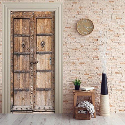 Papel pintado para puertas mejor precio y ofertas for Papel pintado autoadhesivo