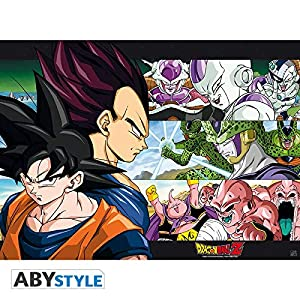 ABYstyle Abysse Corp_ABYDCO182 Dragon Ball - Póster DBZ/Sangoku y Ennemis (52X38)