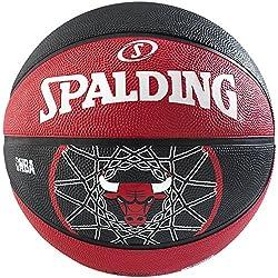 Spalding Chicago Bulls - Pelota de baloncesto, talla 7