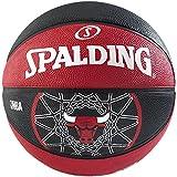 Spalding Chicago Bulls Team Ball - Multi-Colour, Size 7