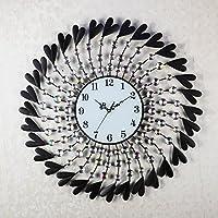 ACCURATE Salone tonda in ferro battuto orologio