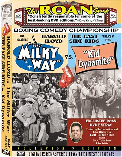"""Boxing Comedy Champs: Harold Lloyd in """"The Milky Way""""/The East Side Kids in """"Kid Dynamite"""""""