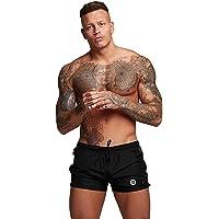 Ducomi Bob Costume Uomo Mare - Pantaloncini da Bagno e Piscina con Doppia Tasca - Pantaloncino Corto ed Elastico ad…