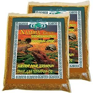 Namiba Terra 20110 Gravel Umbra, 1.0-3.0 mm, Doppel-Pack Terrarieneinstreu, 2 x 5 kg