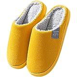 Auenix Pantofole Uomo Caldo Peluche Invernali Pantofole da Casa Ciabatte Chiuse Pantofole Caldo Peluche Pantofole Scarpe da C