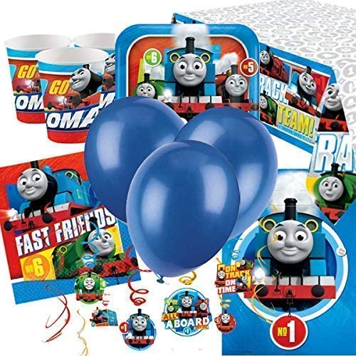 Thomas the Tank Engine Auto Party Supplies-Pack (Thomas The Tank Engine Party)
