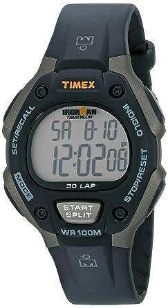 timex sport ironman fullsize triathlon 30 lap watch t5e901 timex sport ironman fullsize triathlon 30 lap watch t5e901