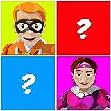 Juego de entrenamiento con memoria: Superhéroes, ¡un juego de lógica simple y gratuito para entrenar tu cerebro y mejorar la memoria!