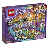 LEGO Friends Amusement Park Roller Coaster Construction Set