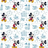 Camelot Stoffe, Mickey Mouse, 100% Baumwolle, 0,5 m CAM315